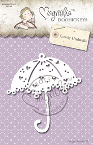 Magnolia Stamps DooHickey 123 - Lost & Found - Lovely Umbrella