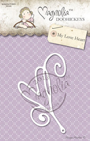Magnolia Stamps DooHickey 125 - Lost & Found - My Love Heart