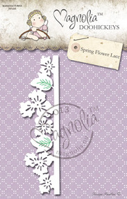 Magnolia Stamps DooHickey 127 - Lost & Found - Spring Flower Lace