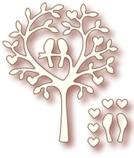 Wild Rose Studio - Cutting Die - Love Bird Tree