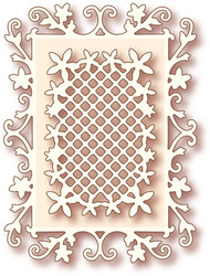 Wild Rose Studio - Cutting Die - Floral Frame