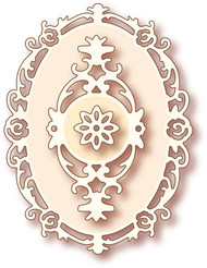 Wild Rose Studio - Cutting Die - Oval Frame