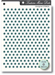 Memory Box Stencil - Mini Dots