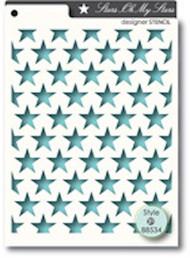 Memory Box Stencil - Oh My Stars