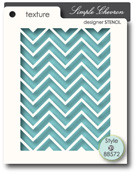 Memory Box Stencils - Simple Chevron