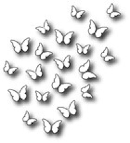 Memory Box Die - Peaceful Butterfly Wings