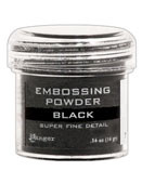Ranger - Embossing Powder - Super Fine Black