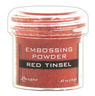 Ranger - Embossing Powder - Red Tinsel