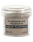 Ranger - Embossing Powder - Liquid Platinum