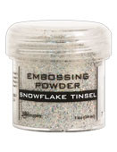 Ranger - Embossing Powder - Snowflake Tinsel