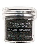 Ranger - Embossing Powder - Black Sparkle (EPJ 37460)