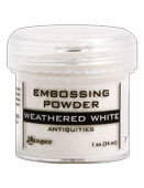 Ranger - Embossing Powder - Weathered White