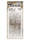 Ranger - Tim Holtz Stencil - Dot Fade - THS006