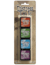 Ranger mini distress ink pad set #2
