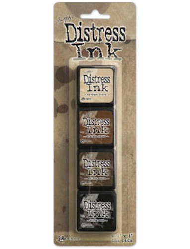 Tim Holtz Mini distress Ink set #3