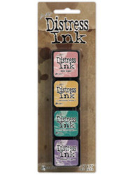Tim Holtz Mini Distress Ink Set #4