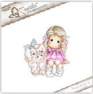 MAGNOLIA STAMPS - TILDA WITH SCARLET THE PIG