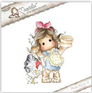 MAGNOLIA STAMPS - TILDA WITH COCKADOODLEDOO THE ROOSTR