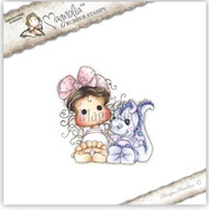 MAGNOLIA STAMPS - TILDA WITH DEXTER THE DRAGON
