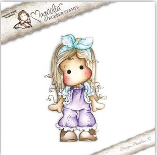 MAGNOLIA STAMPS - TILDA WITH LACE PANTS