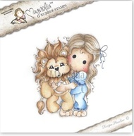 MAGNOLIA STAMPS- TILDA WITH LEO THE LION