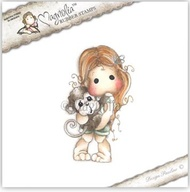 MAGNOLIA STAMPS - TILDA WITH MAGGIE THE MONKEY