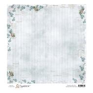 magnolia stamps 12 x 12 paper summer birds