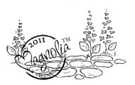 Magnolia Stamps - STONE PATH Rubber Stamp