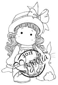 Magnolia Stamps - TILDA AND HER BUNNY Rubber Stamp