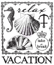 Prima Marketing Seashore Collection - Clear Stamp 2