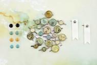 Prima Marketing Seashore Collection - Brads