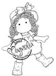 Magnolia Stamps - TILDA WITH RUBBER BOOTS Rubber Stamp