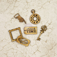 Prima Marketing - Time Traveler's Collection - Wooden Icons