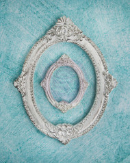Prima Marketing Shabby Chic Treasures Resin Victorian Frame
