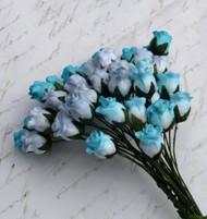 Hip Rosebuds - Mixed Blue Tone