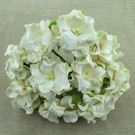 6cm Gardenia -Deep Ivory