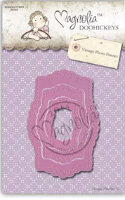 Magnolia Stamps Pink Edition DooHickey - Vintage Photo Frame