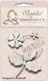 Magnolia Stamps DooHickey Wild Strawberry Flower & Leaf