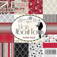 Wild Rose Studio Man About Town 6 x 6 Paper Pack