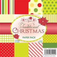 Wild Rose Studio 6 x 6 Traditional Xmas
