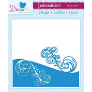 Crafters Companion Embossing Folder Deco Swirl
