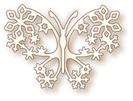 Wild Rose Studio Cutting Die Winter Butterfly