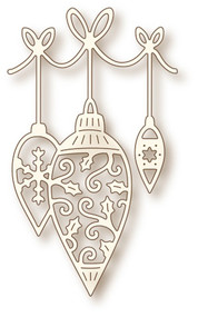 Wild Rose Studio Cutting Die Hanging Baubles