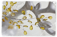 Chandelier Garland Yellow
