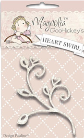 Magnolia Stamps DooHickey Heart Swirl