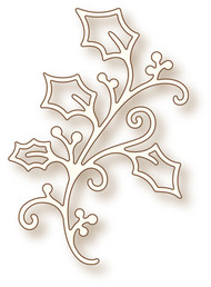Wild Rose Studio Craft Die Holy Flourish