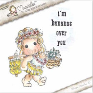 Magnolia Stamps Lovely Duo Banana Tilda