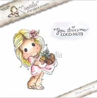 Magnolia Stamps Coco Nuts Tilda Duo