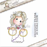 Magnolia Stamps Lovely Ring Twice Tilda Duo