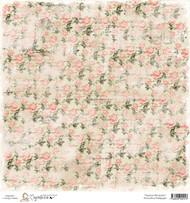 Magnolia 12 x 12 Paper Summer Memories WORN ROSE WALLPAPER